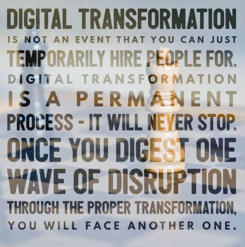 Digital Transformation Done Right