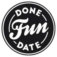 Logo Done Fun Date - newwork gettogether concept