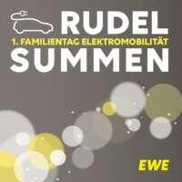 Veranstaltungsgrafik - Plakat Familientag Elektromobilität